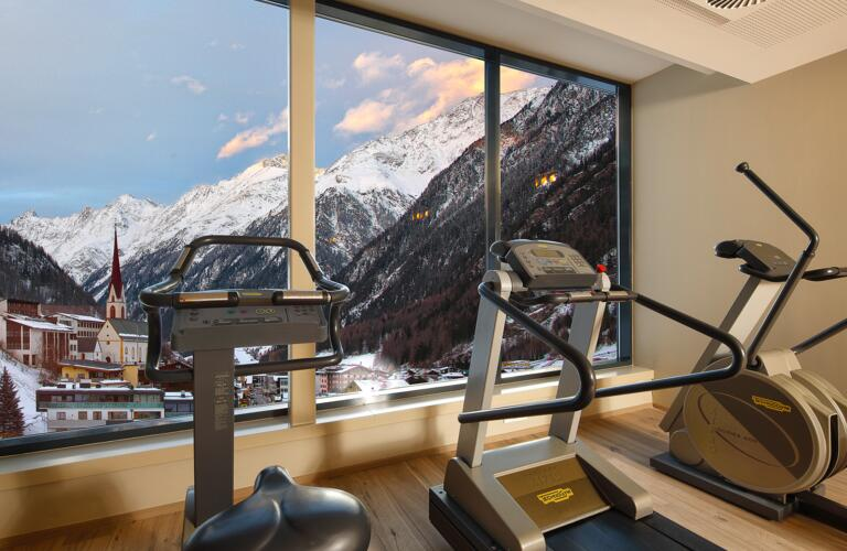 fitness with a view sölden