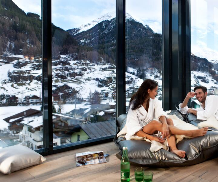 spa with a view wellnesshotel tirol