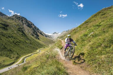 bike holiday in the alps