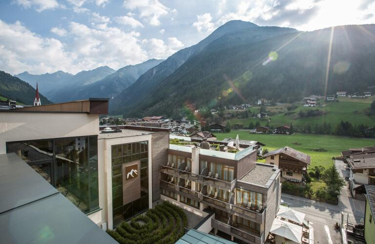 design hotel in the alps tyrol