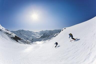 ski touring winter holiday sölden