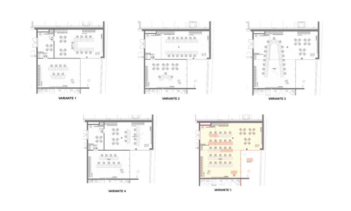 layout seminar rooms